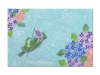 選べるポストカード(4枚)NO.19「小さな渡し船」の画像
