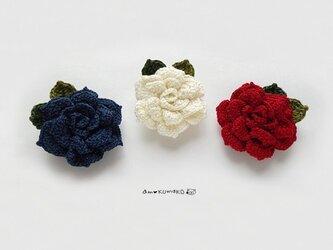 薔薇のマグネットの画像