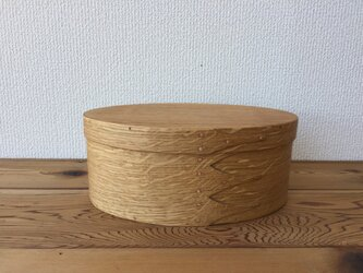 Shaker Oval Box #5 - 楢の画像