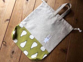 体操服袋洋梨(送料無料)の画像
