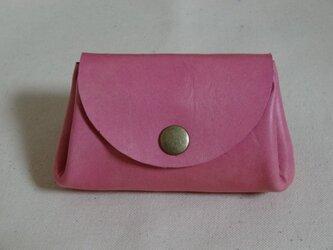 バングラキップ革 コインケース ピンクの画像