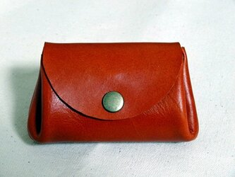 バングラキップ革 コインケース オレンジの画像