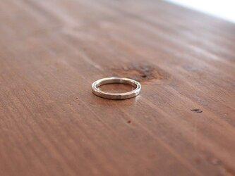 槌目細指輪 rr-72の画像