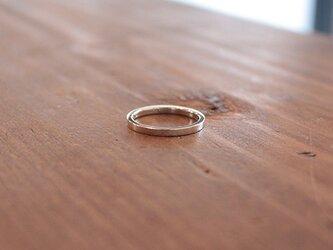 平打鏡面細指輪 rr-73の画像