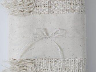 きびそ(生皮苧)手織りボディタオル 純国産 群馬県産 3000デニールの画像