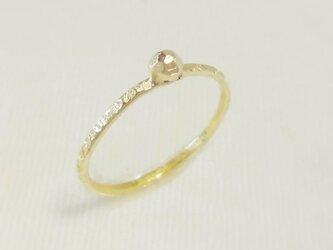 Glitter ring(真鍮)の画像
