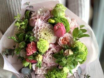 母の日~季節の花束~の画像