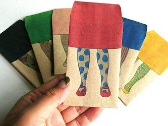 ポチ袋/個性派タイツコレクションの画像