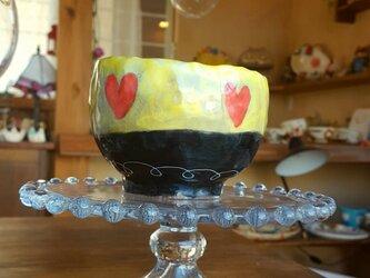 ♥のウキウキフリーカップの画像