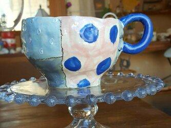 パッチワークマグカップの画像