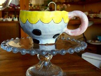 こんにちは、くまのマグカップの画像