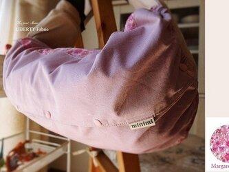 抱っこ紐収納カバー (リバティライン・pink)の画像