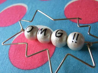 PBP-099 14kgf wire pierced earring(OMG!!)の画像