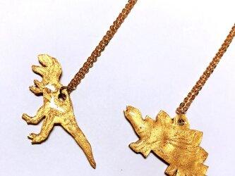 ガォー!恐竜ネックレスの画像