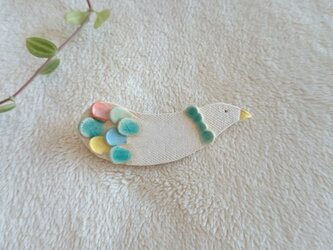 ブローチ(Colorful bird Brooch-014)の画像