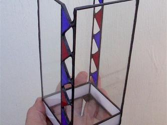 ステンドグラスの器(▲デザイン)の画像