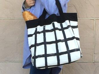 コンパクト おかいのもかばん ハケメ グラフチェックの画像