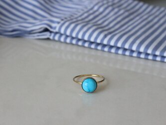 turquise ringの画像