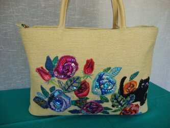 hana dorobo bag*花泥棒のバッグの画像