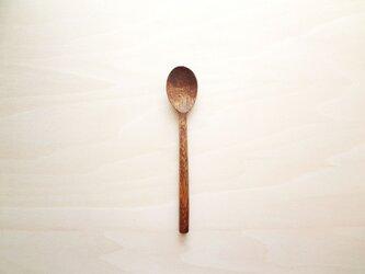 拭き漆スプーン(マカバ)の画像