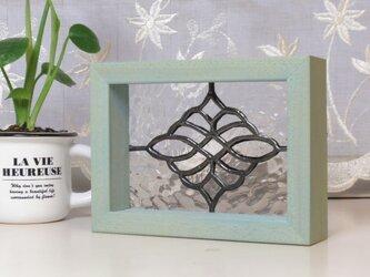 ステンドグラスパネル トラッド柄CR ミニパネルの画像