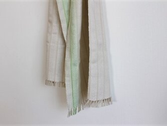 cottonカシミヤ<淡潤み色>ストール の画像