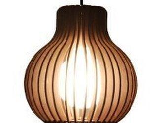 木製照明 ペンダントライト NCNの画像
