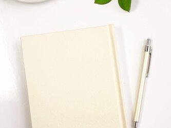 上製文庫ノート クリーム色の画像