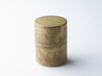 茶筒(円筒形蓋物)の画像