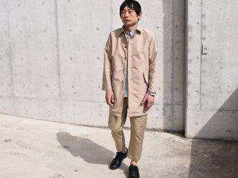 unisex coat スプリングコートの画像