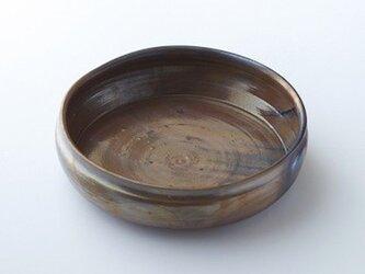 窯変黒唐津深鉢(光沢×黒ミックス)の画像