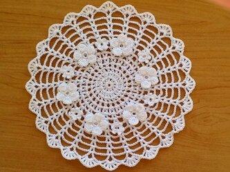 レース編み*花瓶敷の画像