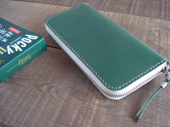 WALDES Zipper 長財布 type01【受注製作】の画像