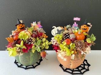 Autumn pumpkin arrange IIの画像
