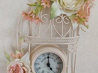 ☆クレイフラワー(花時計)☆の画像