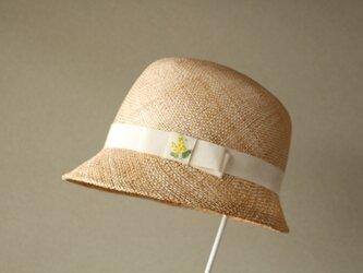 《受注制作》cloche [bao] ミモザ刺繍の画像