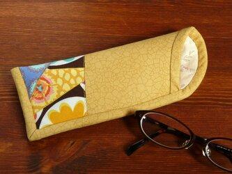 メガネケース (薄型) 黄色の画像