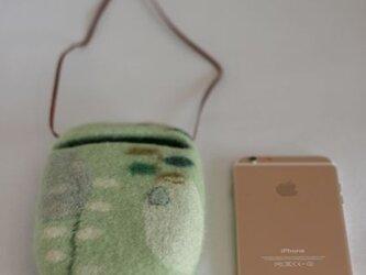 春のcocoon-Ⅱ(浅緑)Lサイズの画像