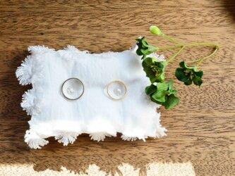 cotton*01 リングピロー「flower」の画像