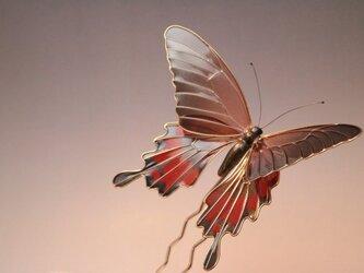 蝶の簪(かんざし) -夕暮の黒揚羽-の画像
