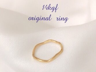 14KGF  wave ring*の画像