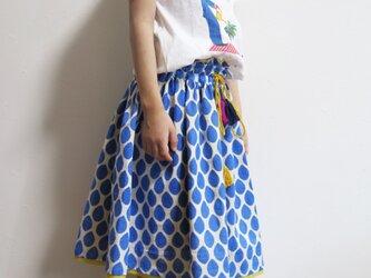 4wayしずくギャザースカートの画像
