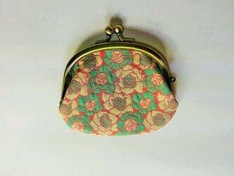冬薔薇(ふゆそうび) 小銭入れ 西陣織正絹 の画像