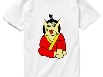 ネコ侍のお殿様Tシャツの画像