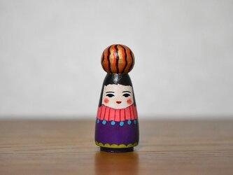 球体者(オレンジ金茶たてじま)の画像