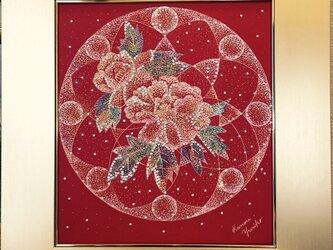 『雑誌CREA5月号』 掲載作品です Layer Of Dimension 11(ゴールド色額縁付き)の画像