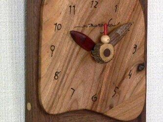 素朴な時計 *クスノキ(楠)の画像