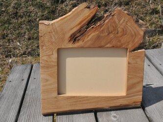 栗の木フォトスタンドの画像