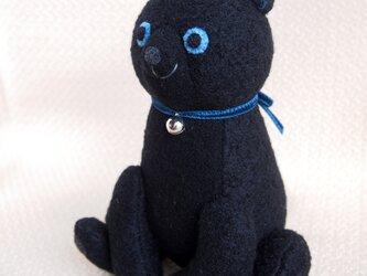 黒猫ブルーの画像