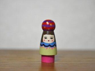 球体者(あか紫よこじま)の画像